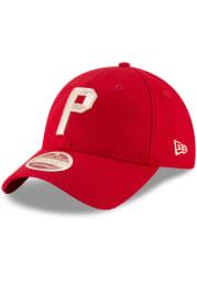 New Era Philadelphia Phillies Vintage Front 9TWENTY Adjustable Hat - Red