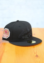 New Era St Louis Cardinals Mens Black Tonal Bronze UV 1926 WS Side Patch 59FIFTY Fitted Hat