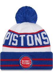 New Era Detroit Pistons Blue Fan Fave Cuff Mens Knit Hat