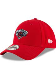 New Era Cleveland Indians 2020 Postseason Locker Room 9FORTY Adjustable Hat - Navy Blue