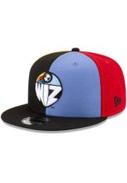 New Era Kansas City Wizards Black Retro Jersey 9FIFTY Mens Snapback Hat
