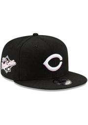 New Era Cincinnati Reds Black Side Patch Paisley UV 9FIFTY Mens Snapback Hat
