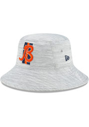 New Era Chicago Bears Grey 2021 Training Camp Stretch Mens Bucket Hat