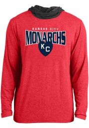 New Era Kansas City Monarchs Mens Red Arched Kansas City Hood