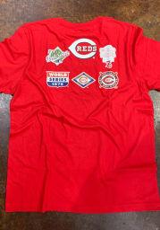 New Era Cincinnati Reds Red World Champions Short Sleeve T Shirt