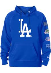 New Era Los Angeles Dodgers Mens Blue World Champions Long Sleeve Hoodie