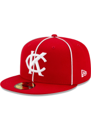 New Era Kansas City Monarchs Mens Red 2021 TBTC 59FIFTY Fitted Hat