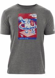 New Era Philadelphia Athletics Grey Elephant Poster Short Sleeve T Shirt