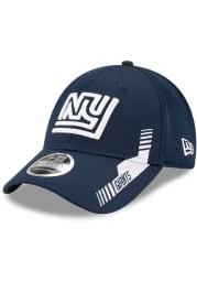 New Era New York Giants 2021 Sideline Home Stretch 9FORTY Adjustable Hat - Navy Blue