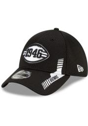 New Era Cleveland Browns Mens Black 2021 Sideline Home 39THIRTY Flex Hat