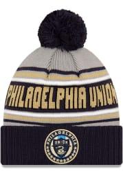New Era Philadelphia Union Navy Blue Cheer Mens Knit Hat
