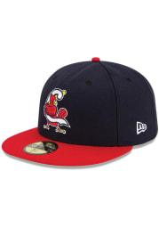New Era Springfield Cardinals Mens Navy Blue MiLB Alt AC 59FIFTY Fitted Hat