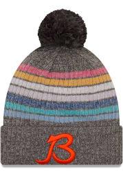 New Era Chicago Bears Grey 2021 Crucial Catch W Knit Womens Knit Hat