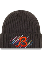 New Era Chicago Bears Grey 2021 Crucial Catch Knit Mens Knit Hat