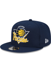New Era Indiana Pacers Blue NBA21 TIP OFF 9FIFTY Mens Snapback Hat