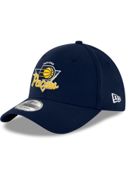 New Era Indiana Pacers Mens Blue NBA21 TIP OFF 39THIRTY Flex Hat