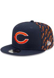 New Era Chicago Bears Navy Blue NFL21 x Gatorade 9FIFTY Mens Snapback Hat