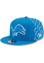 New Era Detroit Lions Blue NFL21 x Gatorade 9FIFTY Mens Snapback Hat