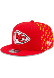 New Era Kansas City Chiefs Red NFL21 x Gatorade 9FIFTY Mens Snapback Hat