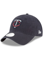 New Era Minnesota Twins Navy Blue Team Glisten 9TWENTY Womens Adjustable Hat