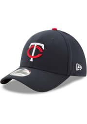 New Era Minnesota Twins Navy Blue Home Jr Team Classic 39THIRTY Adjustable Toddler Hat