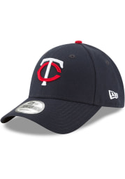 New Era Minnesota Twins Navy Blue Jr The League 9FORTY Youth Adjustable Hat