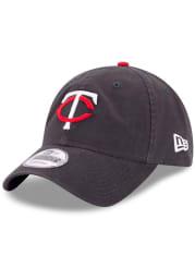 New Era Minnesota Twins Navy Blue Jr Core Classic Replica 9TWENTY Youth Adjustable Hat