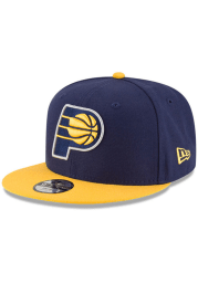 New Era Indiana Pacers Navy Blue 2T 9FIFTY Youth Snapback Hat