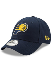 New Era Indiana Pacers Navy Blue Jr The League 9FORTY Youth Adjustable Hat