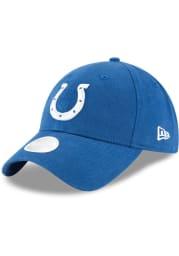 New Era Indianapolis Colts Blue Preferred Pick 9TWENTY Womens Adjustable Hat
