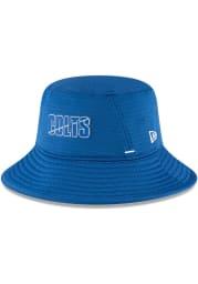 New Era Indianapolis Colts Blue 2020 Training Camp Mens Bucket Hat