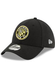 New Era Columbus Crew Mens Black Team Classic 39THIRTY Flex Hat