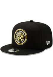 New Era Columbus Crew Black Basic 9FIFTY Mens Snapback Hat