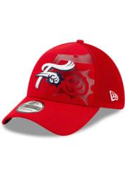 New Era Reading Fightin Phils Mens Red Tonal Neo 39THIRTY Flex Hat