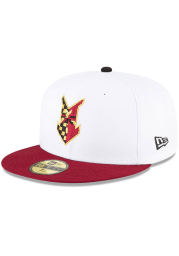 New Era Indianapolis Mens White Theme Night 59FIFTY Fitted Hat
