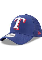 Texas Rangers Blue Jr Mega Team Neo 39THIRTY Youth Flex Hat