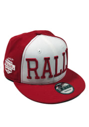 New Era RALLY Red 9FIFTY Mens Snapback Hat