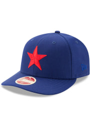 Detroit Stars Mens Blue Dual 59FIFTY Fitted Hat