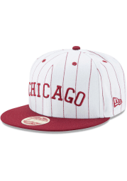New Era Chicago American Giants White Striped Jerz 9FIFTY Mens Snapback Hat