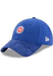 New Era Detroit Pistons NBA17 On Court Adjustable Hat - Blue