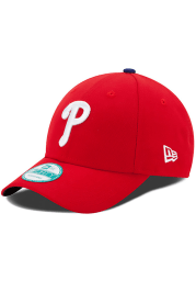 Philadelphia Phillies Red Game Jr The League 9FORTY Youth Adjustable Hat
