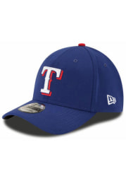 Texas Rangers Red Game Jr Team Classic 39THIRTY Youth Flex Hat