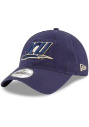New Era John Carroll Blue Streaks Core Classic 9TWENTY Adjustable Hat - Navy Blue