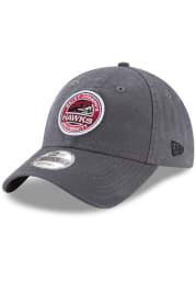 New Era Saint Josephs Hawks Core Classic 9TWENTY Adjustable Hat - Grey
