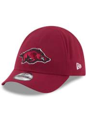 New Era Arkansas Razorbacks Baby My 1st 9TWENTY Adjustable Hat - Cardinal