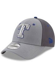 New Era Texas Rangers The League Gray Pop 9FORTY Adjustable Hat - Grey