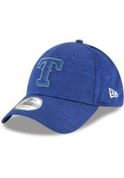 New Era Texas Rangers Blue 2018 Clubhouse Jr 39THIRTY Youth Flex Hat