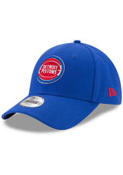 New Era Detroit Pistons Blue The League JR 9FORTY Youth Adjustable Hat
