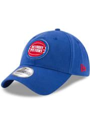 New Era Detroit Pistons 9TWENTY Adjustable Hat - Blue