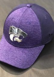 New Era K-State Wildcats Mens Purple Shaded Luster 39THIRTY Flex Hat